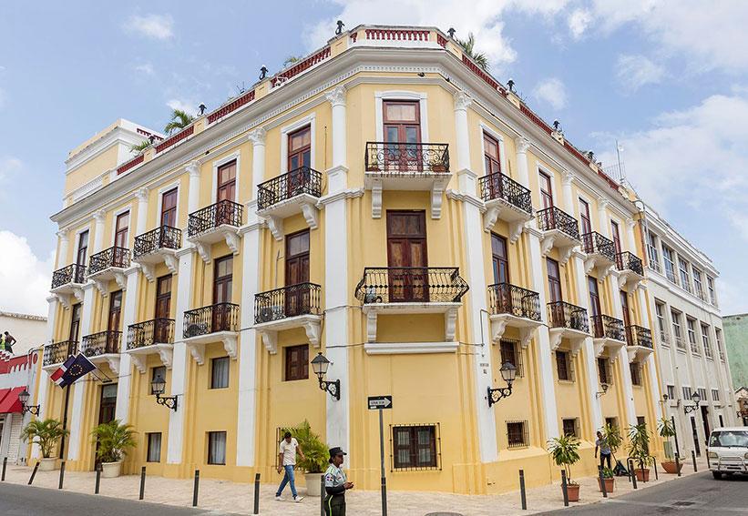 ANTIGUO HOTEL EUROPA (Sto. Domingo)